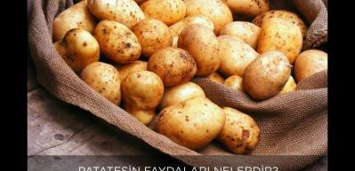 Patatesin vücuda faydaları