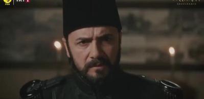 Ekranlara kilitleyen sahne! Abdülhamid derslerini verdi!