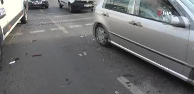 Pendik sahil yolunda feci kaza: 8 yaralı