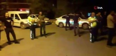 Polise çarpıp kaçtı, araçtan 34 kilogram esrar çıktı