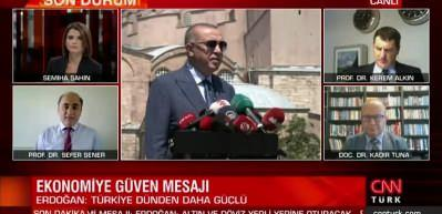 Prof. Dr. Şener: Dalgalanmayı sadece Türkiye yaşamadı