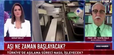 Prof. Dr. Tevfik Özlü cevapladı! 'Yerli aşı mutasyon geçiren virüse karşı etkili mi?'