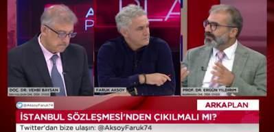 Prof. Faruk Yıldırım: İstanbul Sözleşmesi tek başına işleyen bir sözleşme değil!