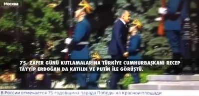 Putin'in de katıldığı törende yanlış anons! Rusların Erdoğan hayali yarım kaldı