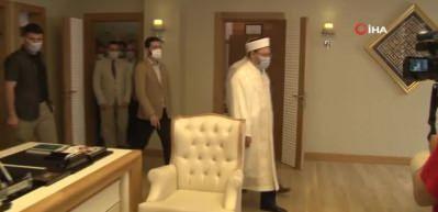 Diyanet İşleri Başkanı'ndan son dakika 'Ayasofya' açıklaması