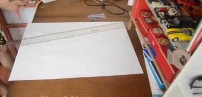 Ressam ve milli yüzücü Yusuf Akgün'den AKSUNGUR İHA çizimi