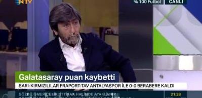 Rıdvan Dilmen: İkiniz de hakem olamazsınız