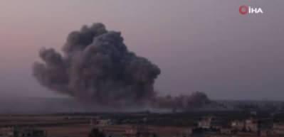 Rus savaş uçakları sabah vurdu! Ölüler var