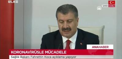 Sağlık Bakanı Fahrettin Koca'dan önemli açıklama