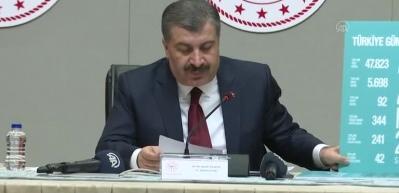 Sağlık Bakanı Koca'dan açıklamalar