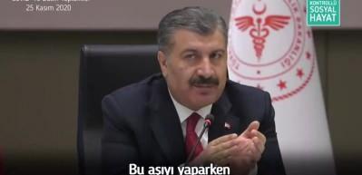 Sağlık Bakanı Koca'dan Covid-19 aşısıyla ilgili açıklama