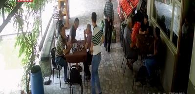 Sakarya'daki patlamada köylülerin paniği kamerada