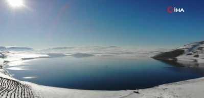 Saklı Cennet 'Aygır Gölü'nden kartpostallık görüntüler