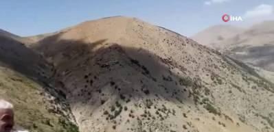 Film sahnelerini aratmayan kurtarma operasyonu... Ambulans helikopter inemedi askeri helikopter çağrıldı