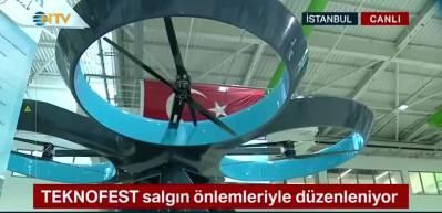 Selçuk Bayraktar Türkiye'nin ilk uçan arabası Cezeri'yi anlattı