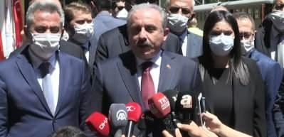 """Şentop: """"(Beyrut'taki patlama) Cumhurbaşkanımız, Lübnan Cumhurbaşkanı ile görüştü"""""""