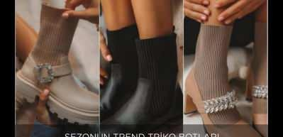 Sezonun trendi triko botlar için stil önerileri