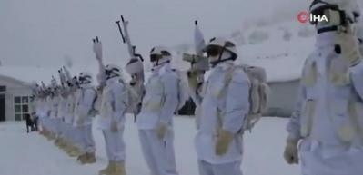 Şırnak'ta güvenlik güçleri, zorlu kış şartlarında da teröristlere göz açtırmıyor