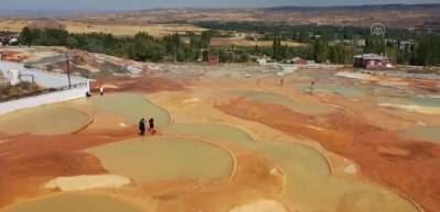 Sivas'ın Pamukkale'si Altınkale'ye yoğun ilgi
