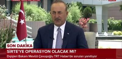 Son dakika haberi: Bakan Çavuşoğlu Libya'ya operasyon sinyalini verdi!