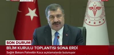 Son dakika haberi: Sağlık Bakanı Koca açıklama yapıyor