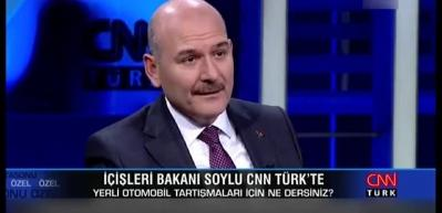 Soylu'dan HDP'li Temelli'nin yerli otomobil eleştirisine müthiş yanıt!