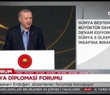 Cumhurbaşkanı Erdoğan: 'Suriye'de barışın sağlanması sadece Türkiye'nin değil hepimizin sorumluluğudur'