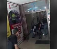 HDP binasına saldırıda yeni görüntüler! Saldırgan böyle etkisiz hale getirildi