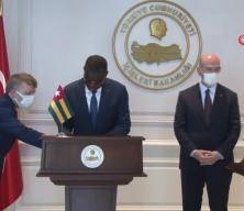 Bakan Soylu, Togo Güvenlik ve Sivil Savunma Bakanı Yark ile bir araya geldi