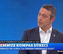 Ali Koç'tan sürpriz teknik direktör ve Aziz Yıldırım sözleri!