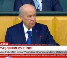 Bahçeli: Kılıçdaroğlu'nun ağzındaki bakla zehirli