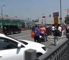 Eminönü'nde kaza sonrası tekme tokat saldırdı!