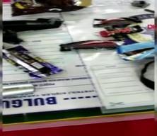 PKK'lı terörist çikolata ve kek ambalajlarına gizlediği patlayıcıyla yakalandı