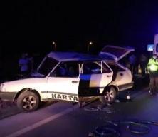 Muğla'da iki otomobil çarpıştı: 3 ölü, 5 yaralı