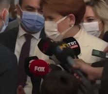 Akşener'in korumalarından gazetecilere müdahale! Özür dilemek zorunda kaldı