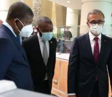Angola Cumhurbaşkanı Lourenço Savunma Sanayii Başkanığı'nda