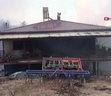 Manavgat'ta büyük yangın! Çok sayıda ev küle döndü!