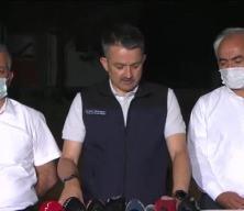 Tarım ve Orman Bakanı Pakdemirli, Manavgat'taki orman yangınına ilişkin açıklamada bulundu