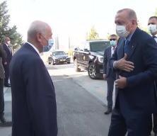Başkan Erdoğan Bahçeli'yi ziyaret etti