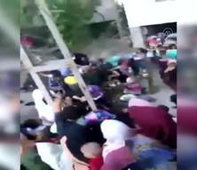 Nişan kalabalığının üzerine balkon çöktü! Dehşet anı kamerada