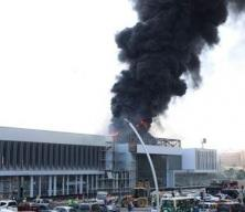 Son dakika haberi: Ankara Garı yanındaki inşaatta yangın