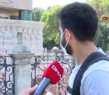 Sultanahmet Meydanı'nda tepki çeken hareket