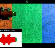 Bukalemun robot ortama göre renk değiştiriyor