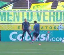Messi'den yarıda kalan Brezilya maçı öncesi nefis gol!