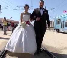 Görenler şaşkına döndü! Gaziantep'te ilginç düğün aracı