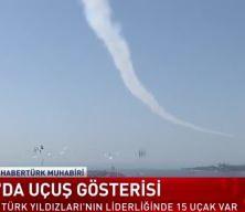 MSB saat vermişti! Türk Yıldızları Boğaz'ı böyle selamladı