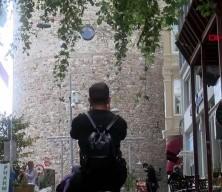 Galata Kulesi'nin önündeki KGYS direği kaldırılıyor