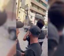 Lübnan'da sokak ortasında dehşet görüntüler