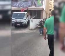 Çatışmaları böyle izledi: 'Beyrutlu amca' sosyal medyayı salladı