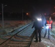 Elazığ'da makinistin ihbarı polisi alarma geçirdi, raylar didik didik arandı